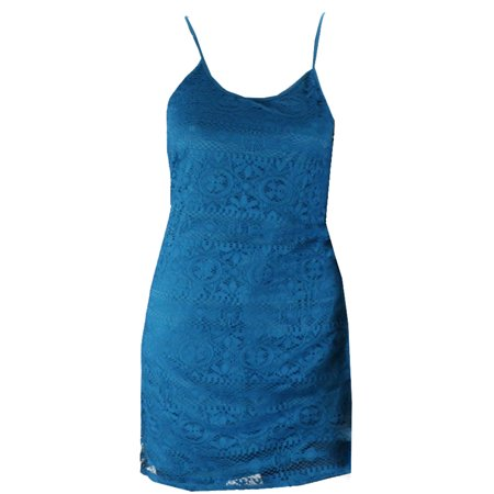 Love Fire Turkish Tile Sleeveless Lace Dress S