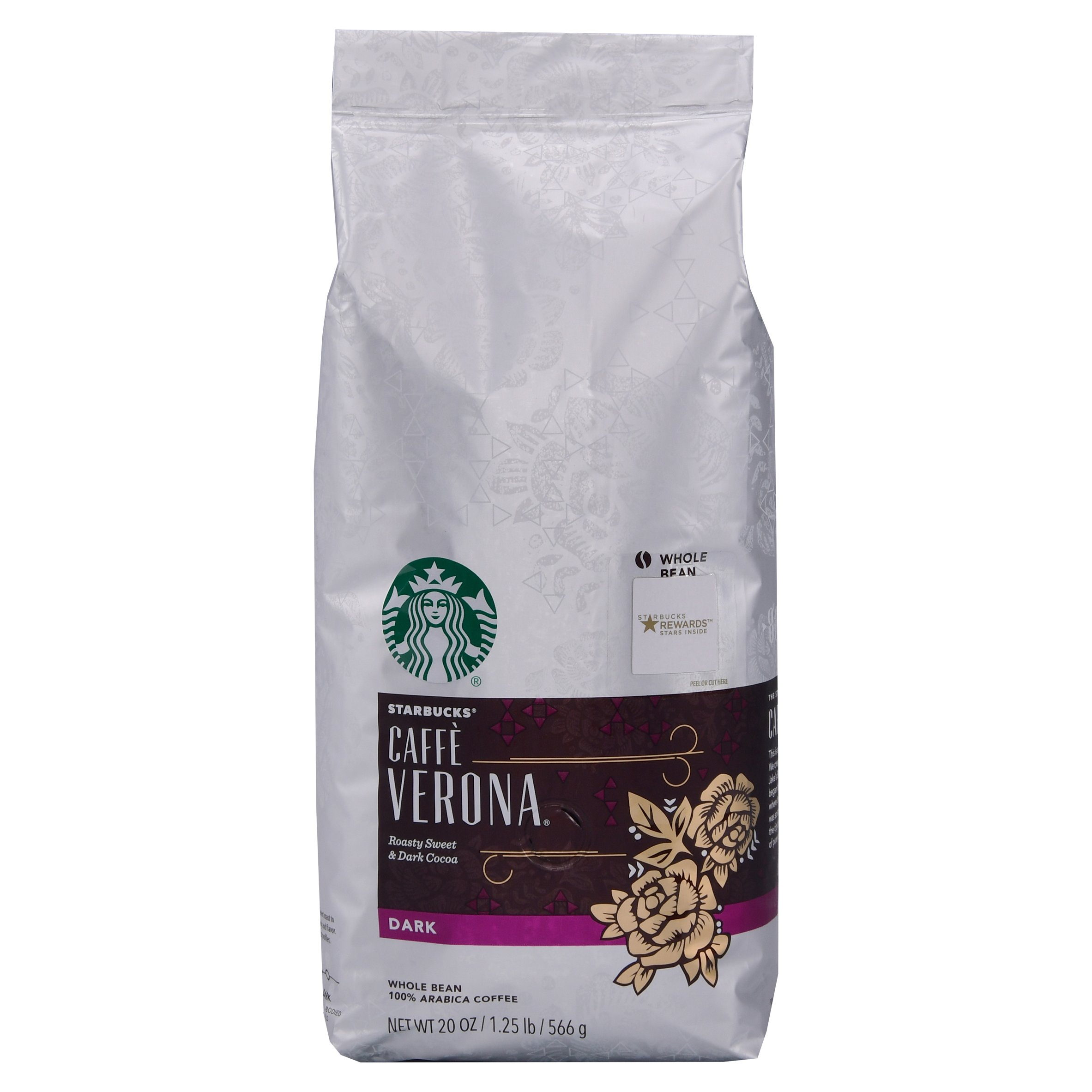 Starbucks Caffè Verona Dark Whole Bean 100% Arabica Coffee, 20 oz by STARBUCKS COFFEE COMPANY