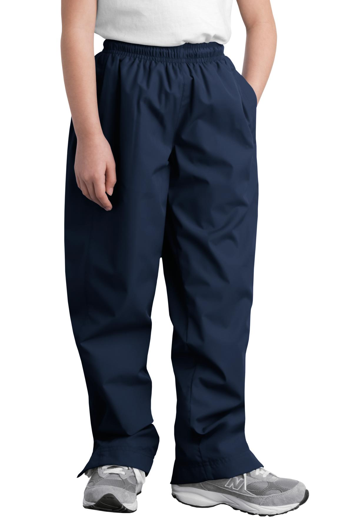 YPST74 Sport-Tek Sweatpants Youth Wind Pant