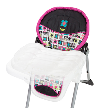 Baby Trend Sit Right Adjustable High Chair, Bloom Image 3 Of 6
