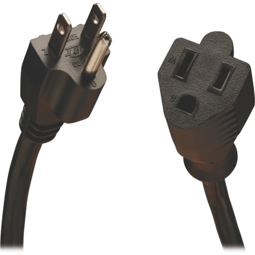 Power Cord,5-15P to 5-15R,10A,18AWG,10ft TRIPP LITE P022-010