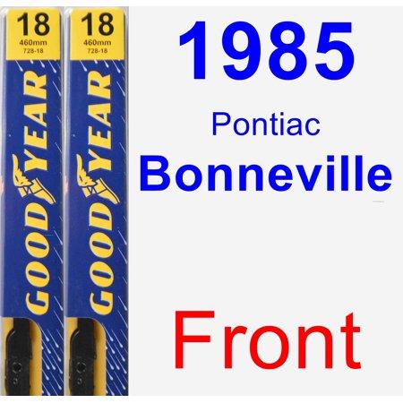 1985 Pontiac Bonneville Wiper Blade Set/Kit (Front) (2 Blades) -