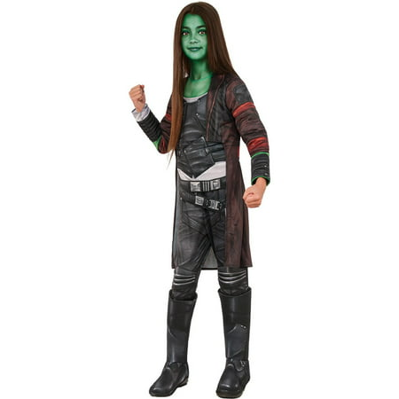 Guardians of the Galaxy Vol. 2 - Gamora Deluxe Child Costume (Galaxy Costume)