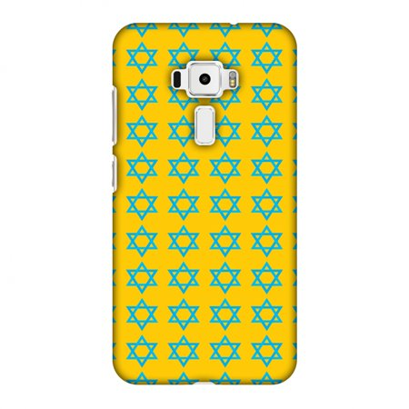 Asus Zenfone 3 ZE520KL Case - Hanukkah Pattern 1, Hard Plastic Back Cover. Slim Profile Cute Printed Designer Snap on Case with Screen Cleaning Kit](Hanukkah Accessories)