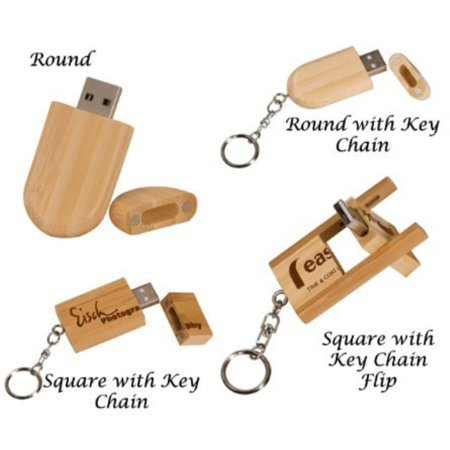 Personalized USB 4 GB Flash Drive FREE LASER (Order Personalized Cards)