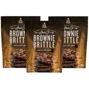 (3 Pack) Sheila G's Chocolate Chip Brownie Brittle, 5 oz