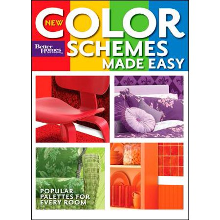 New Color Schemes Made Easy (Better Homes and Gardens) - Fall Wedding Color Schemes