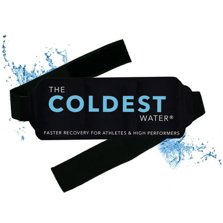 The Coldest Ice Pack Gel Reusable - Hot + Cold Therapy - Flexible Compress Best for Back Pain Hip Shoulder Neck Ankle Sprain Recovery, Muscle Injury Medical