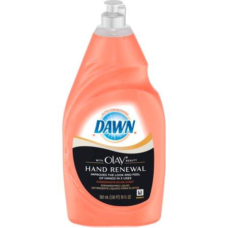 dawn plus dishwashing liquid with vitamin e pomegranate splash ultra