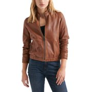 Lucky Brand   Leather Jacket   Brown   Size M