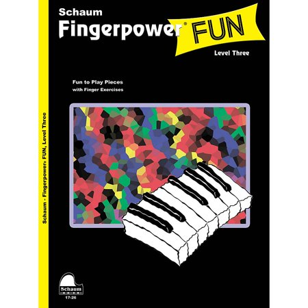 SCHAUM Fingerpower Fun (Level 3 Early Inter Level) Educational Piano Book