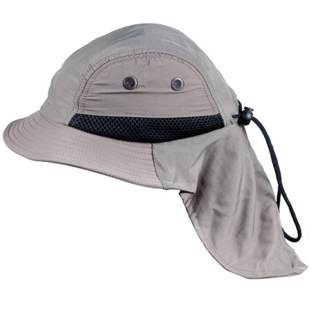ded259e7 Basilica - Summer Outdoor Protection Hat for Kids with Long Neck Back Flap  - Walmart.com