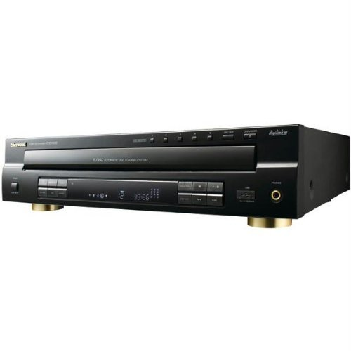 Sherwood Front Loading Carrousel Multi-Disc Player CD-RW CD-DA, WMA, MP3 Playback 5 Disc(s) by Sherwood
