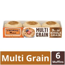 Packaged Bread: Thomas' English Muffins Multi Grain