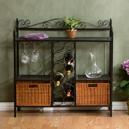 Celtic Bistro Wine Rack Wrought Iron Wine Cabinets