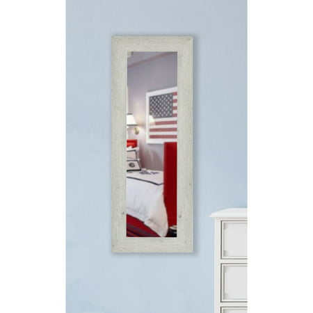 Rayne Mirrors American Made Rayne Antique White Washed Body Wall/ Vanity Mirror ()