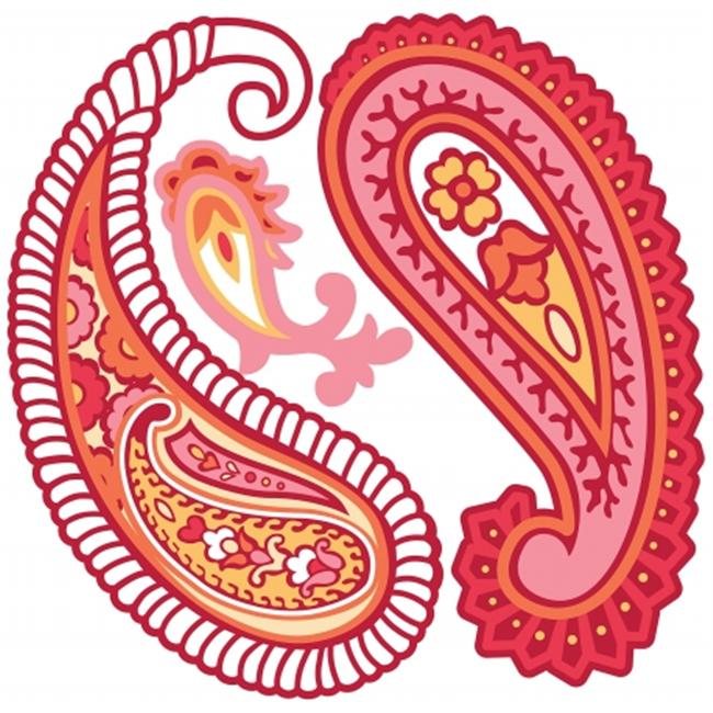 WallPops Paisley Please Dot Pack of 2