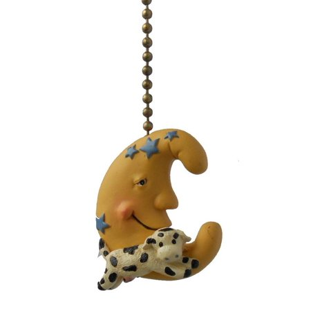 Over The Moon Designs (Cow Jumped Over the Moon Nursery Baby Ceiling Fan Pull, Measures 2 inches By Clementine Designs)