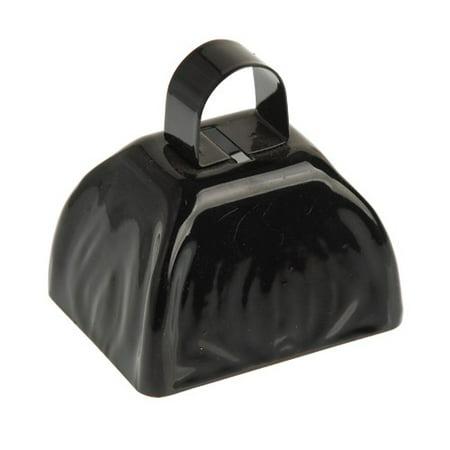 US TOY KD21-01 School Spirit Metal Cowbells Black - Spirit Cowbells