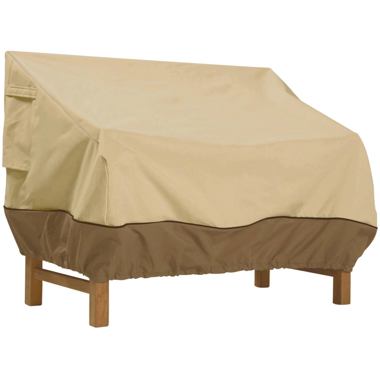Classic Accessories Veranda Patio Bench Furniture Storage Covers