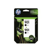 HP 901 Black Original Ink, 2 Cartridges (CZ075FN)