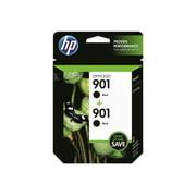 HP 901 Black Original Ink Cartridge, 2-Pack (CZ075FN)