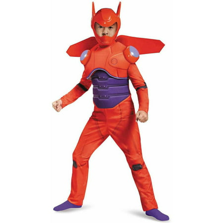 Big Hero 6 Baymax Deluxe Muscle Child Halloween Costume