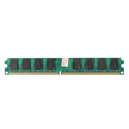 2GB PC2-5300 DDR2 667 MHz NON-ECC DIMM Memory AMD CPU Laptop PC Motherboard
