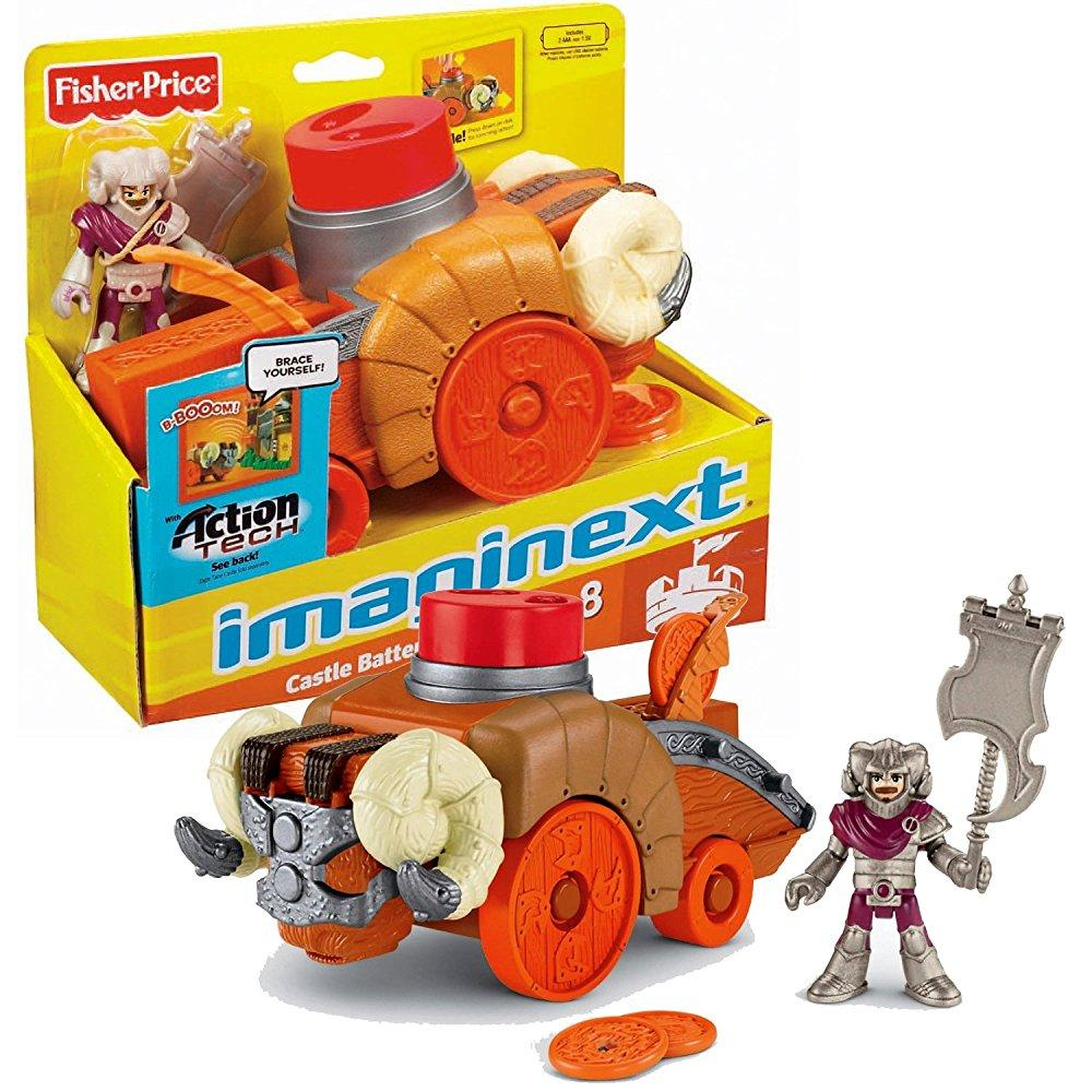 Fisher Price Year 2012 Imaginext Castle Series 7-1/2 Inch...