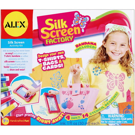 Alex Sticker Factory (ALEX Toys DIY Wear Silkscreen Factory )