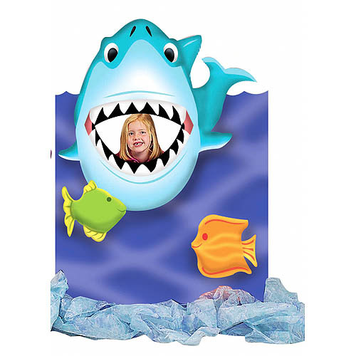 Giant Shark Mouth Photo Stand In