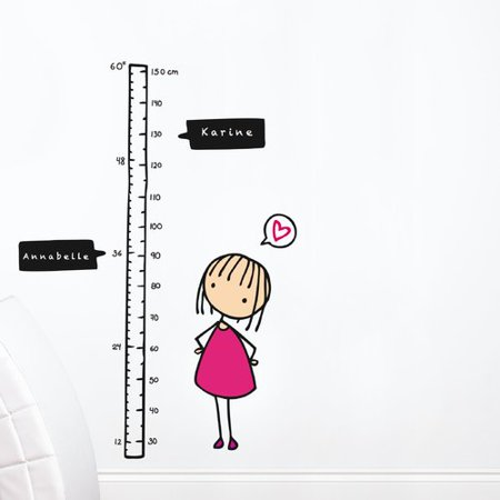 ADZif Piccolo Watch Me Grow! Girl Growth Chart Star Girl Growth Chart