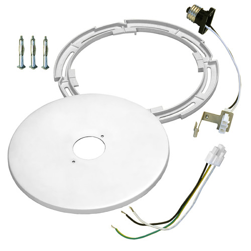Dolan Designs 10570 Recessed Light Converter Kit for 4 to 6 Inch Recessed Lights