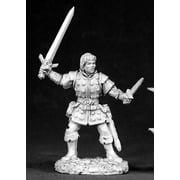 Reaper Miniatures Dirk, Male Rogue #02555 Dark Heaven Legends Unpainted Metal