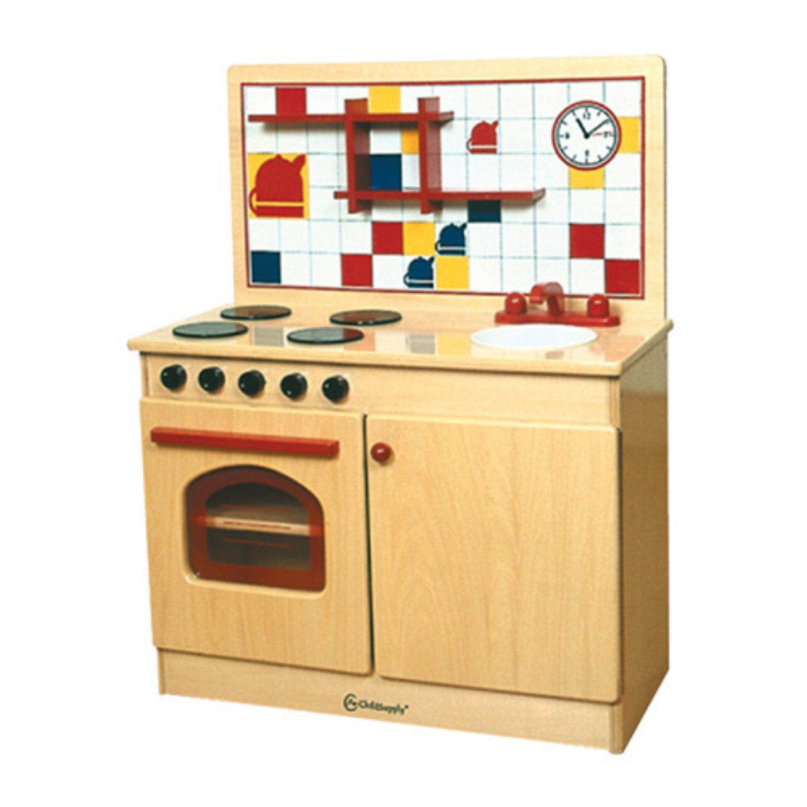 Walmart Play Kitchens For Toddlers: A+ Childsupply Toddler 3 In 1 Play Kitchen