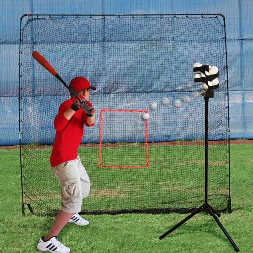 Heater Trend Sports Scorpion Soft Toss Pitching Machine a...