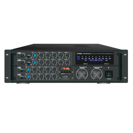 Karaoke Amplifier (Pyle PMXAKB2000 B.t Stereo Mixer Karaoke)