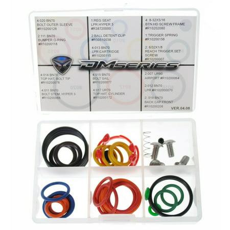 DM14 NEW Dye Repair Kit For DM 14 Paintball Gun - Factory Parts Kit ()