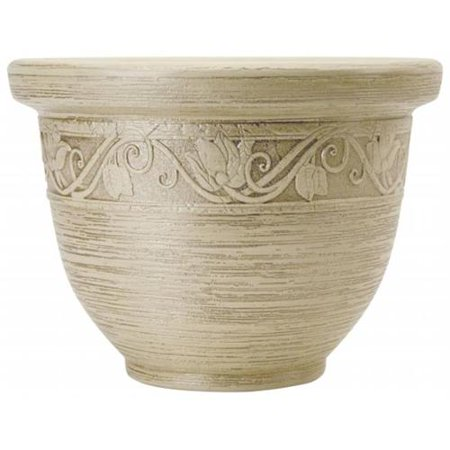Akro-Mils Lawn & Garden Glaze Resin Pot Planter (Set of 3)