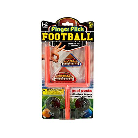 Item Finger Flick Football Game, 1-2 Players, 5+ - Football Player Toys