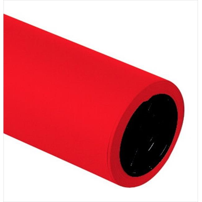 Decorol 055087 Art Paper 100 Percent Vat Dyed Sulphite Acid-Free Construction Paper Roll, Festive Red