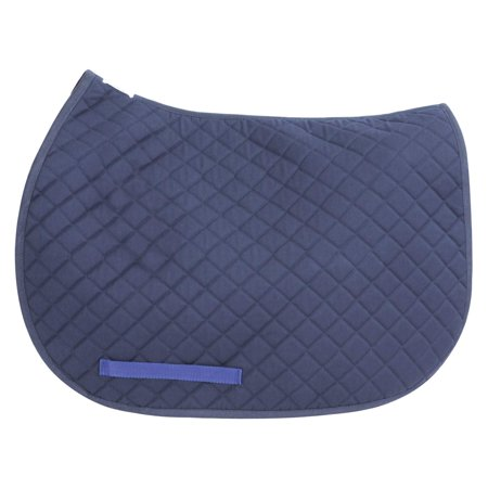 Basic Pony Saddle Pad, The Basic Pony Saddle Pad is perfect for schooling and isWalmartfortable with its micro polyester/cotton material. By TuffRider