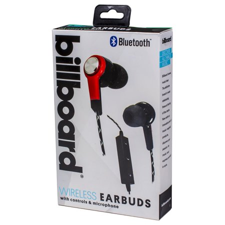 bd441284bef Billboard Mg507 Bluetooth Earbuds With Microphone - Walmart.com