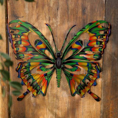 Butterfly Multi 3D Steel Wall Art by Next Innovations