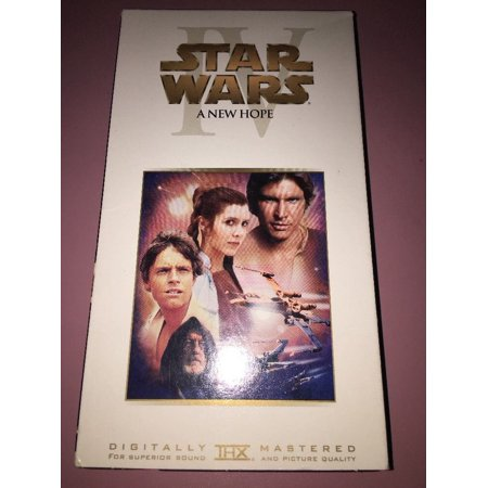 star wars a new hope 2000744 vhs Rare Vintage (Star Wars On Vhs)