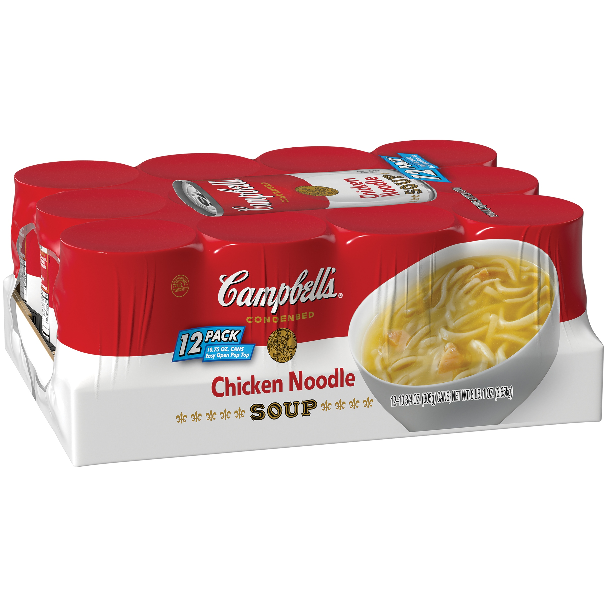 Campbell's Chicken Noodle Soup 10.75oz 12 pack by Campbell Soup Company
