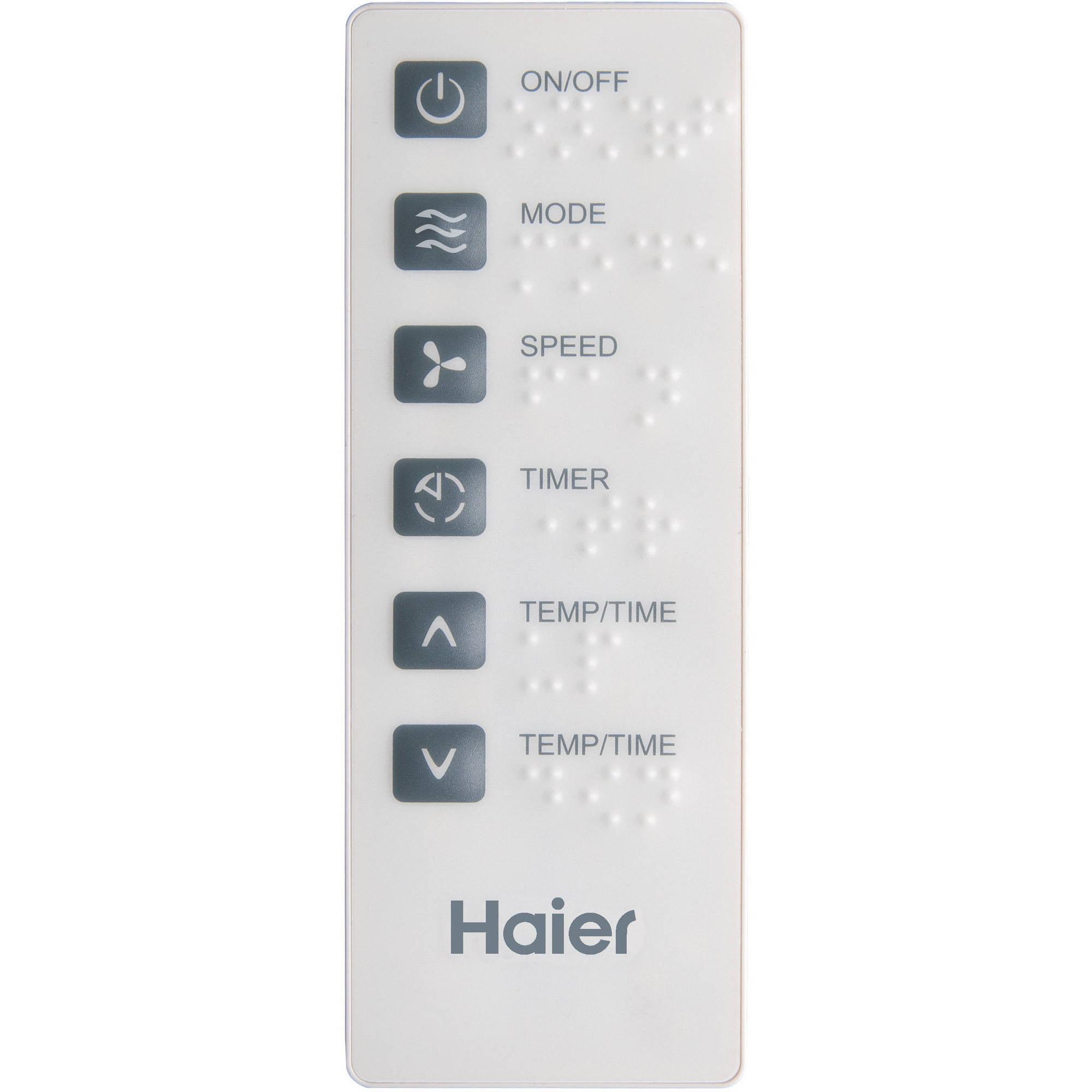 haier hwe08xcrld btu 112 ceer electronic control air conditioner walmartcom
