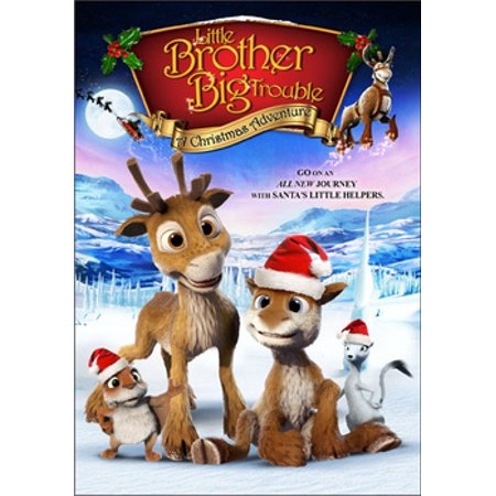 Little Brother, Big Trouble: A Christmas Adventure (DVD) ()