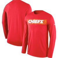 Product Image Kansas City Chiefs Nike Sideline Seismic Legend Long Sleeve T- Shirt - Red 6cbe48d4f