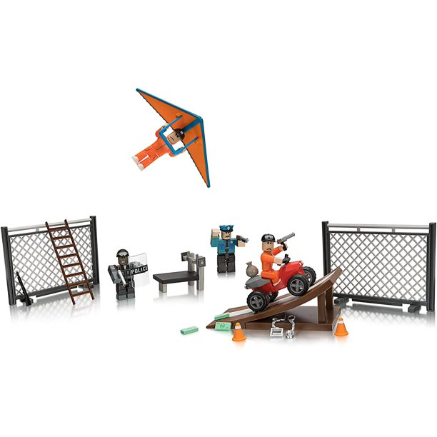 Roblox Jailbreak Great Escape Playset W 24 Play Pieces